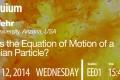 Colloquium: March 12, 2014